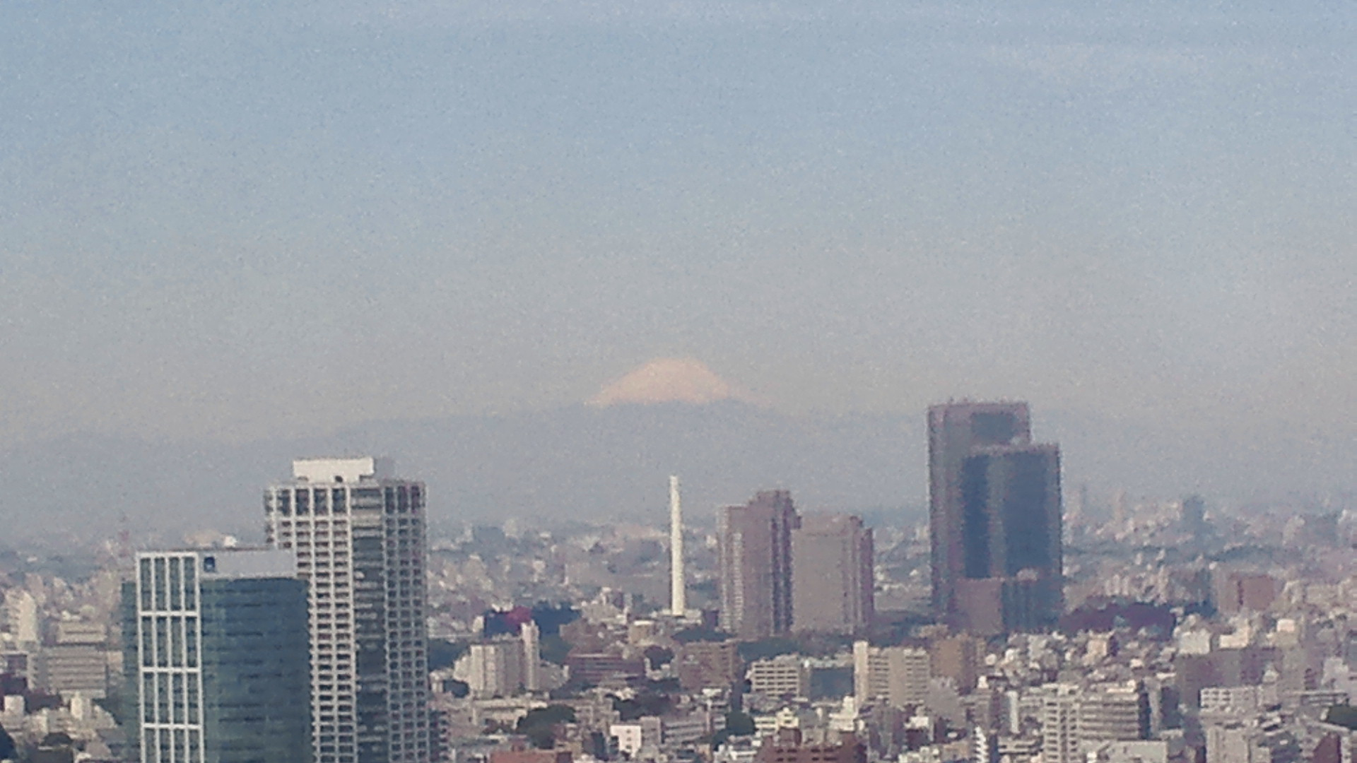 きょうの富士山 110420