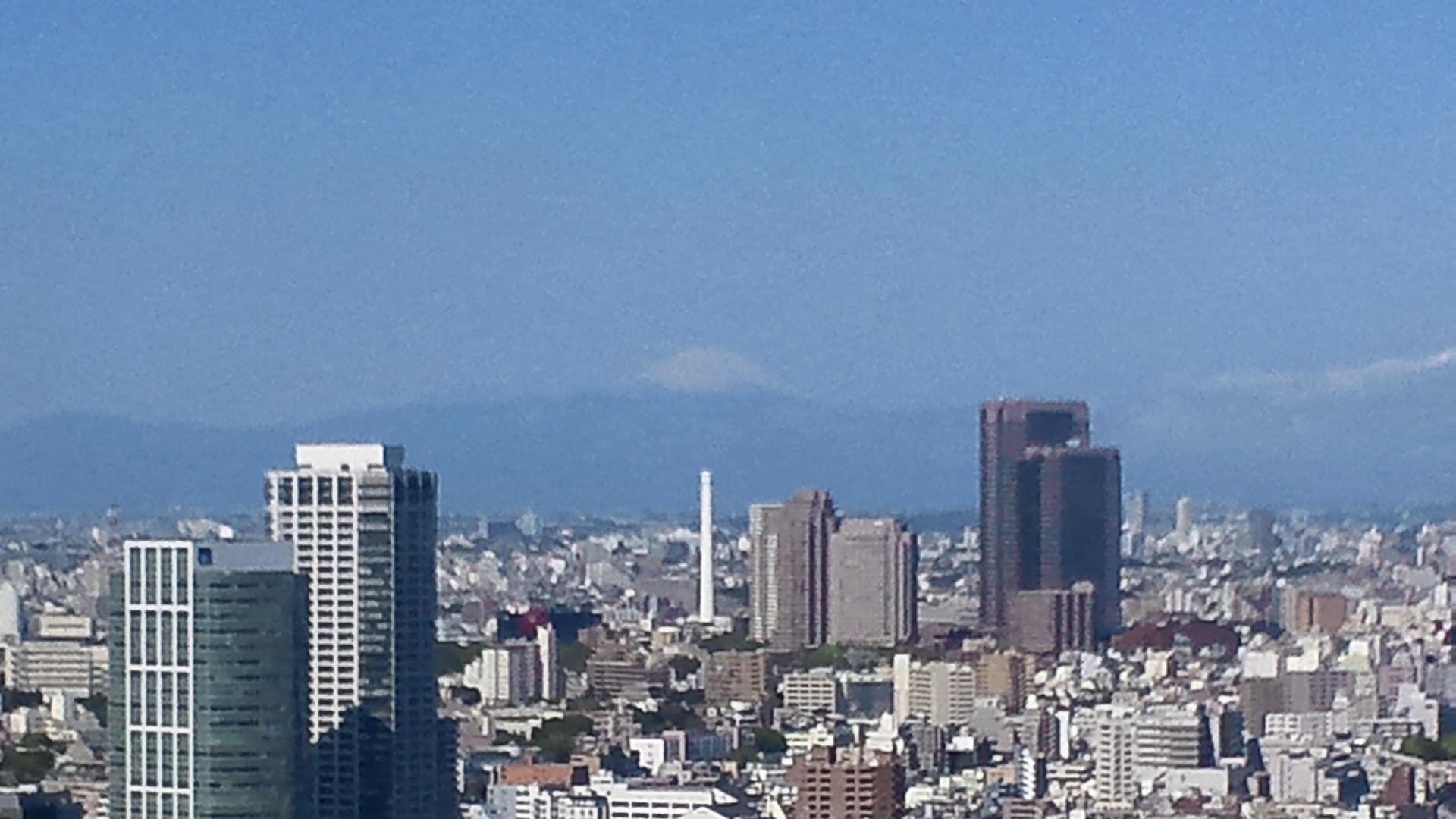 きょうの富士山 110428
