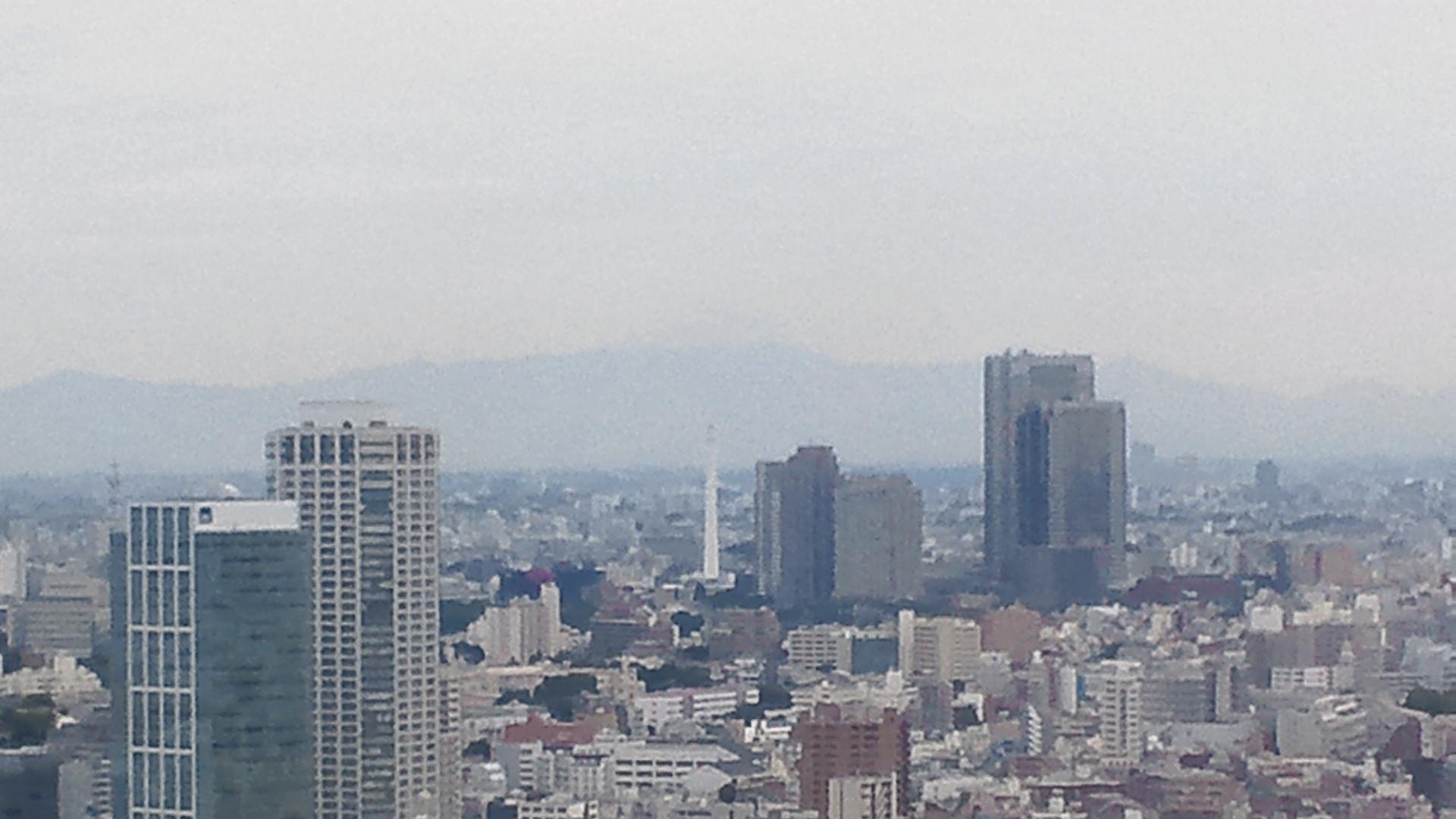 きょうの富士山 110708