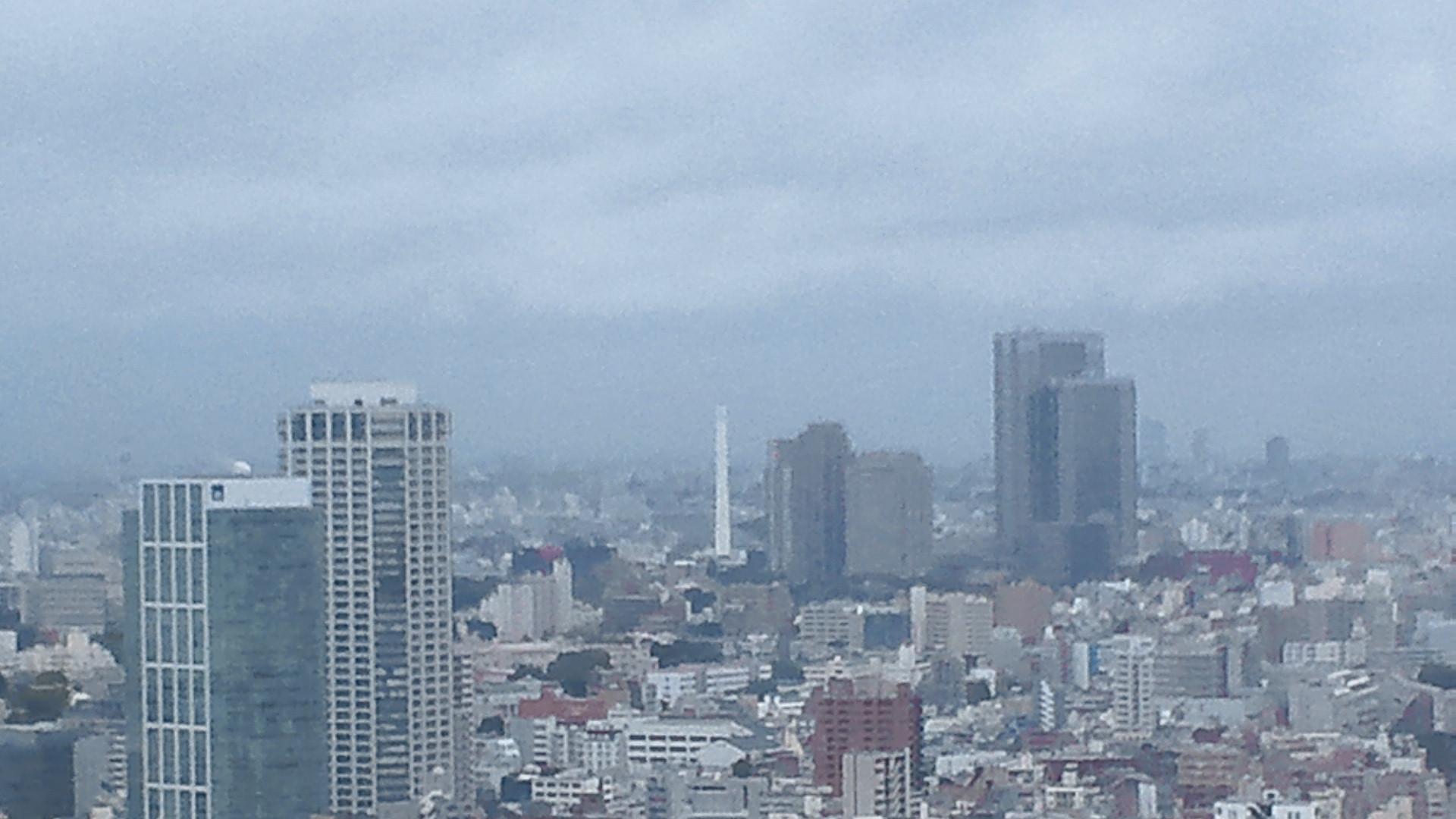 きょうの富士山 110719