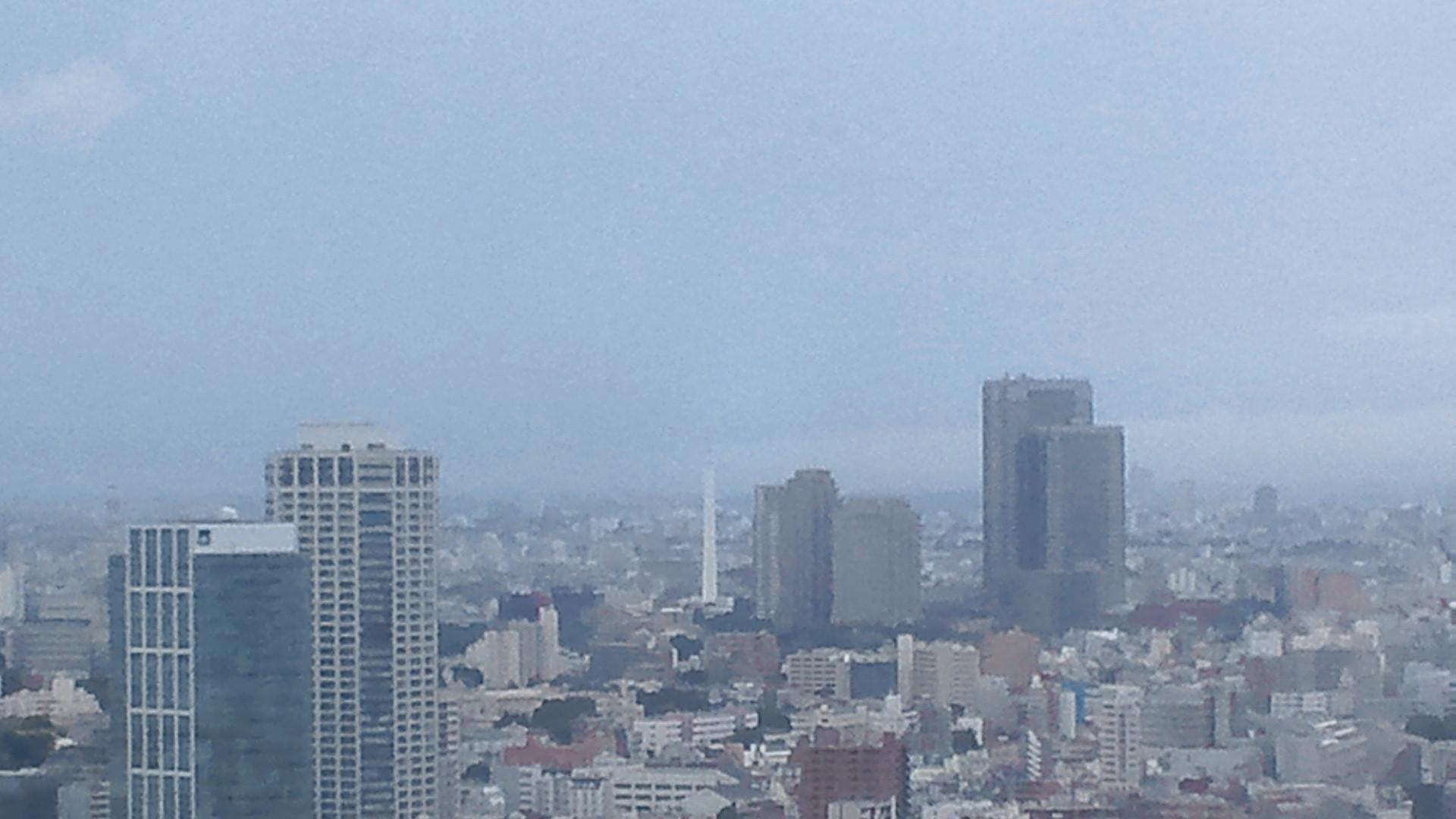 きょうの富士山 110825