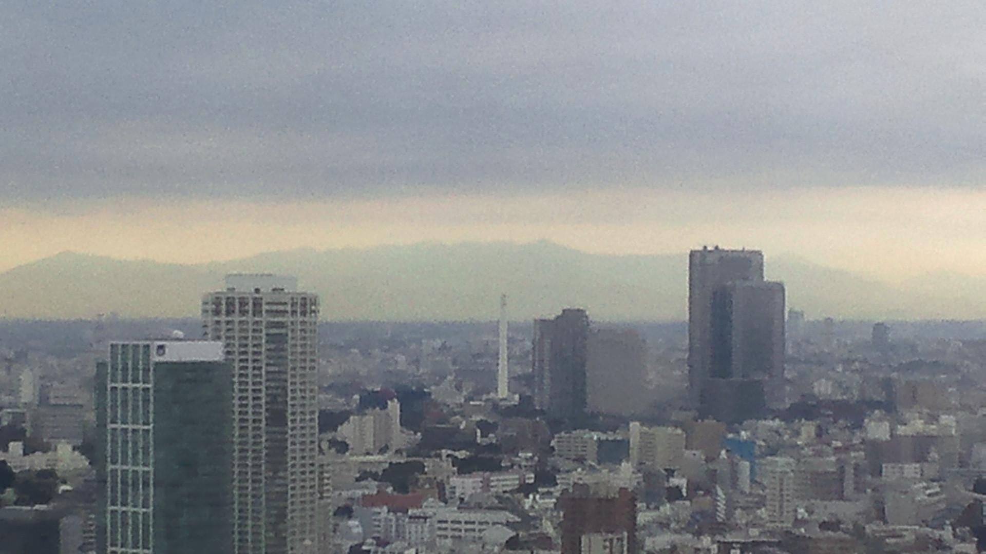 きょうの富士山 111018