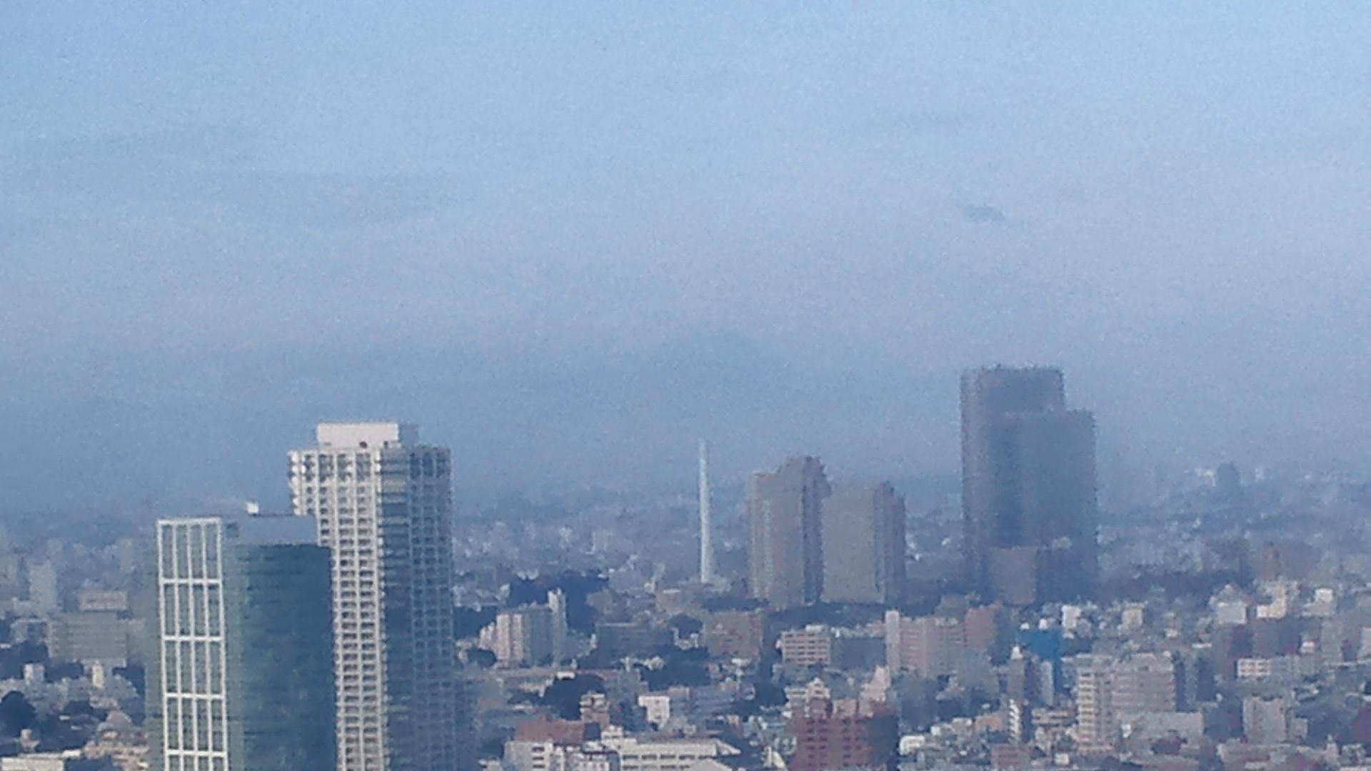 きょうの富士山 111107