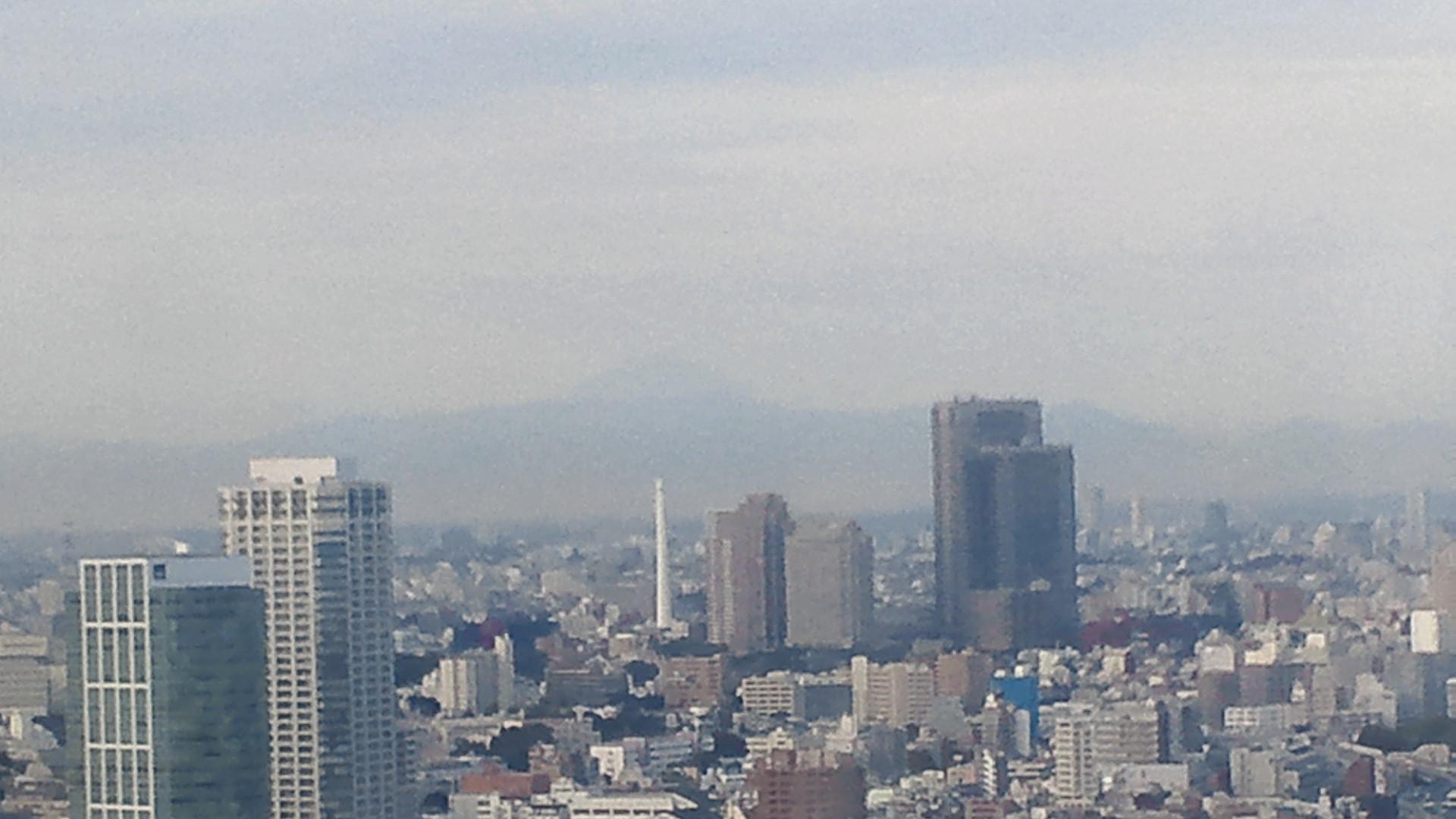 きょうの富士山 111109