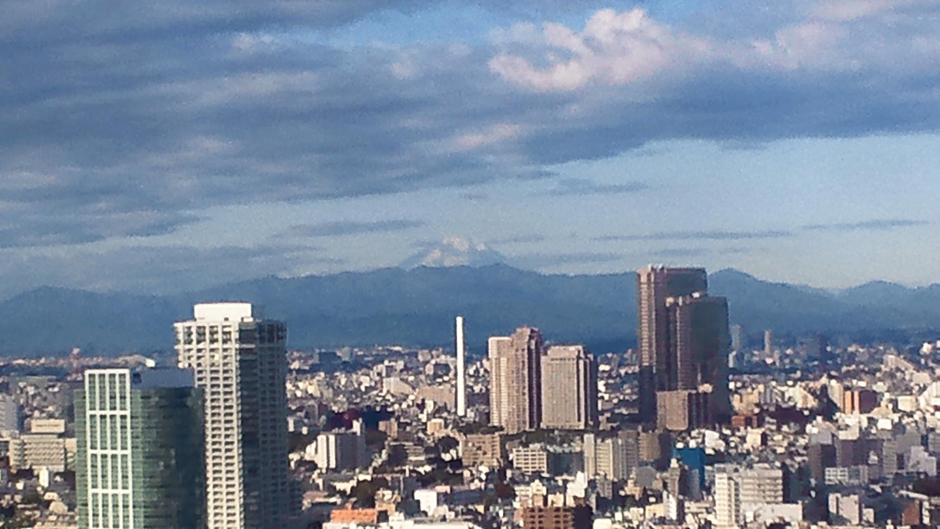 きょうの富士山 111121