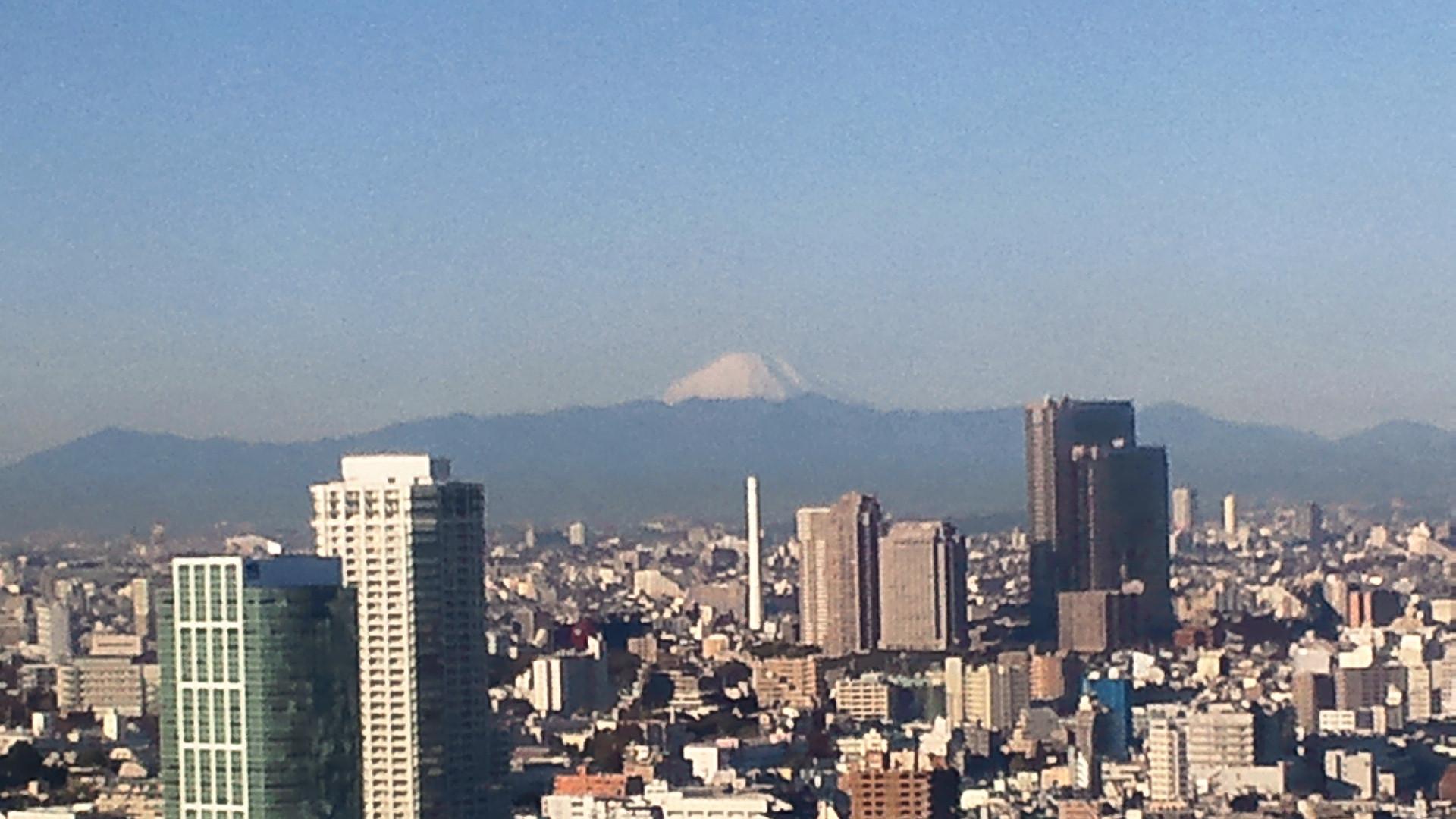 きょうの富士山 111205