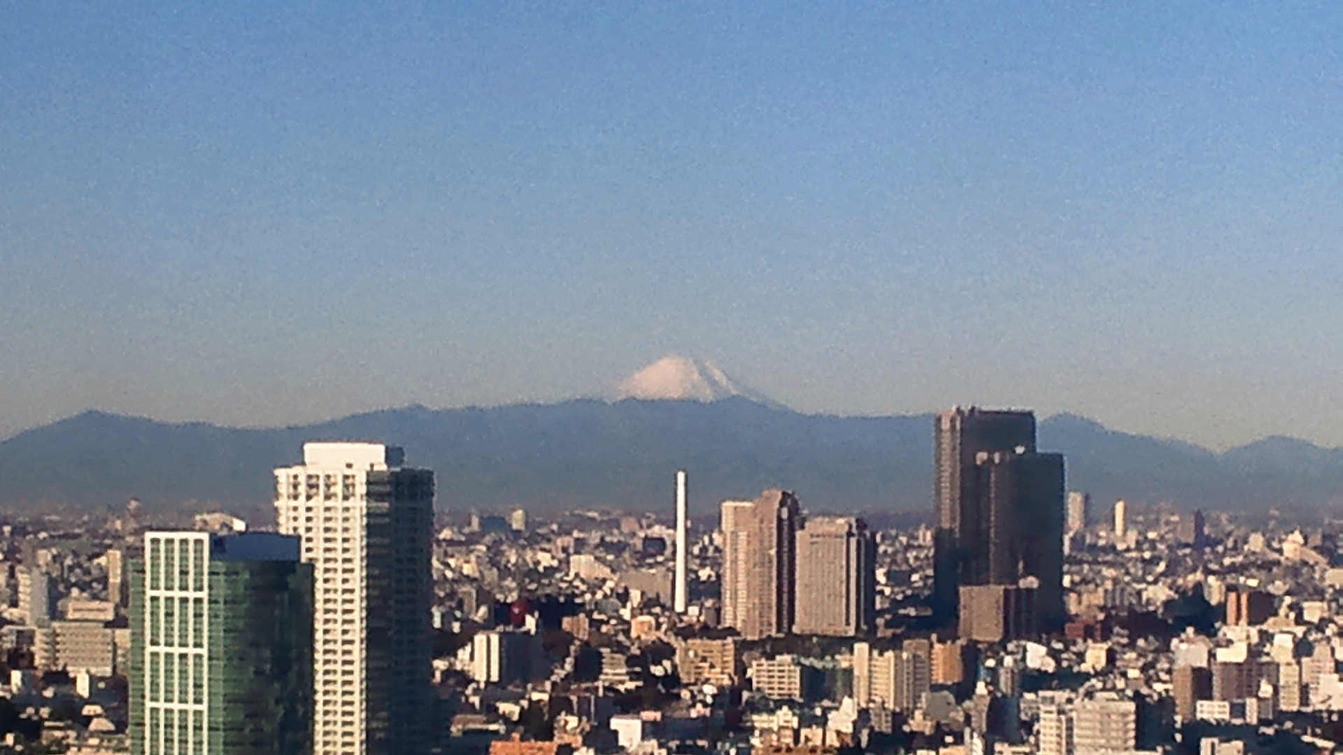 きょうの富士山 111220