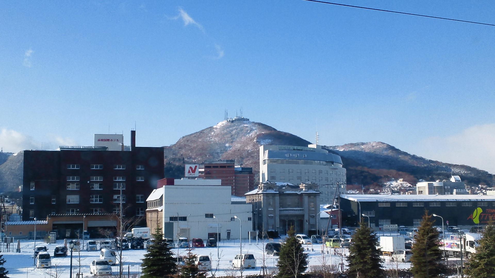 きょうの函館山 111225