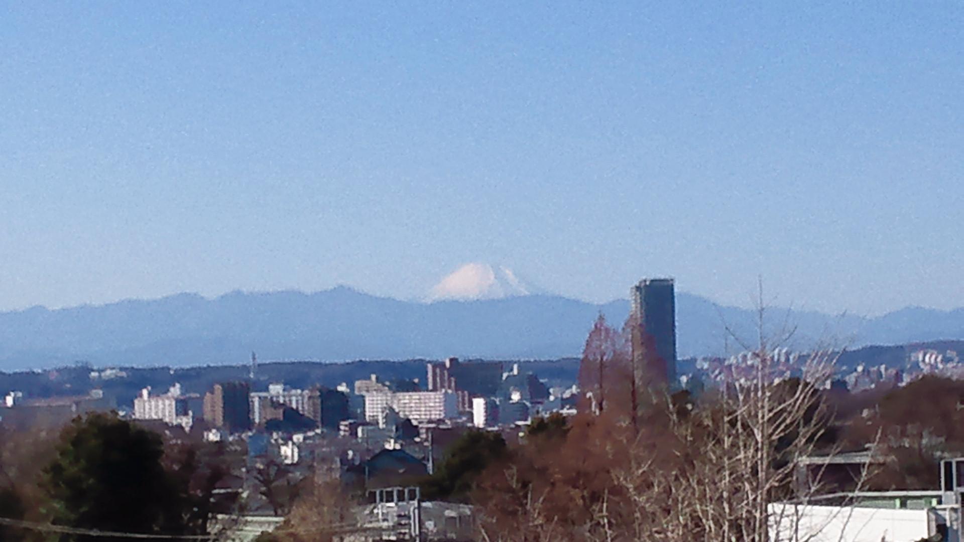 きょうの富士山 111230