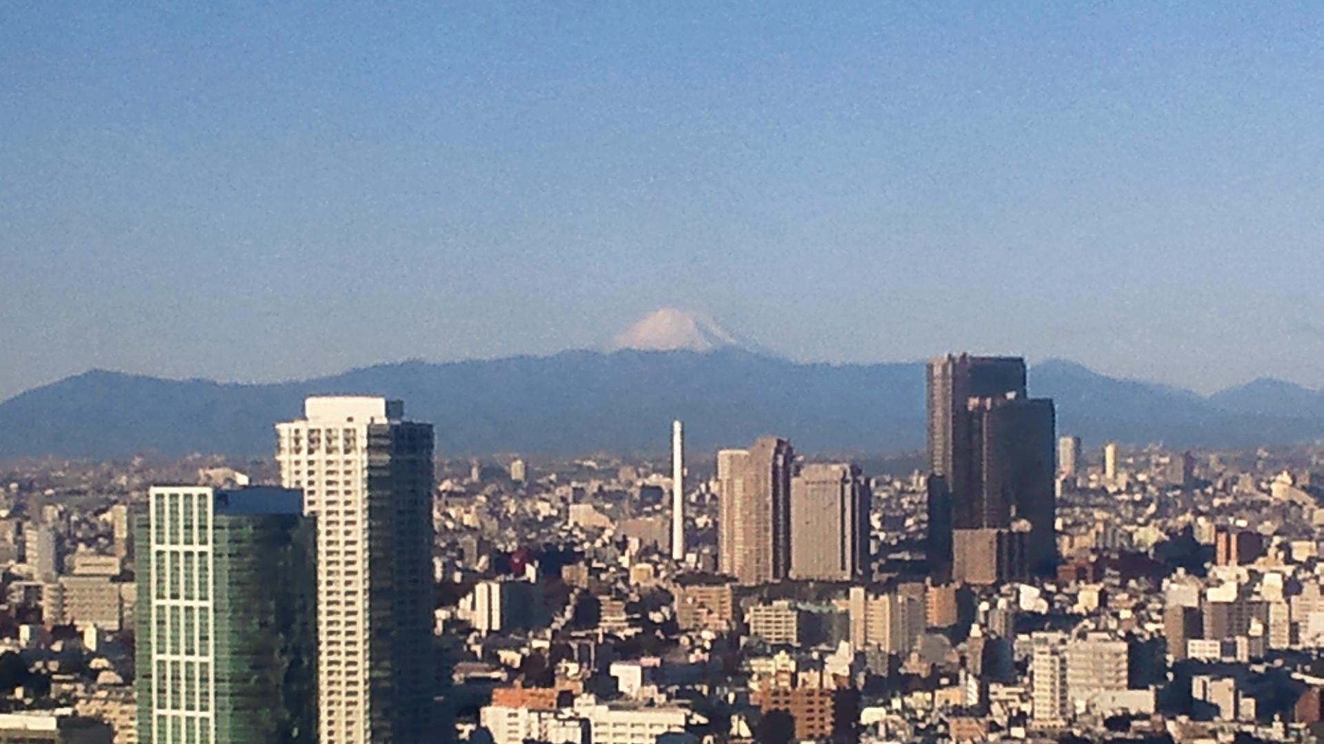きょうの富士山 120105