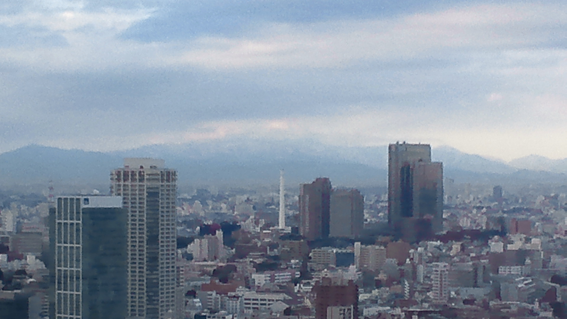 きょうの富士山 120106