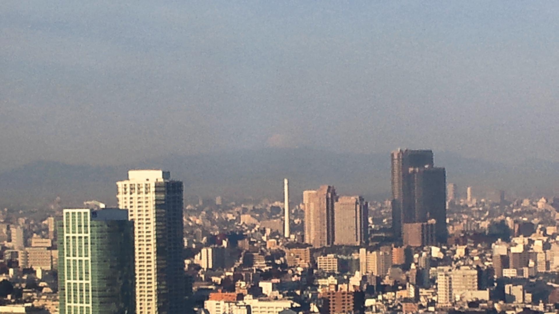 きょうの富士山 120110
