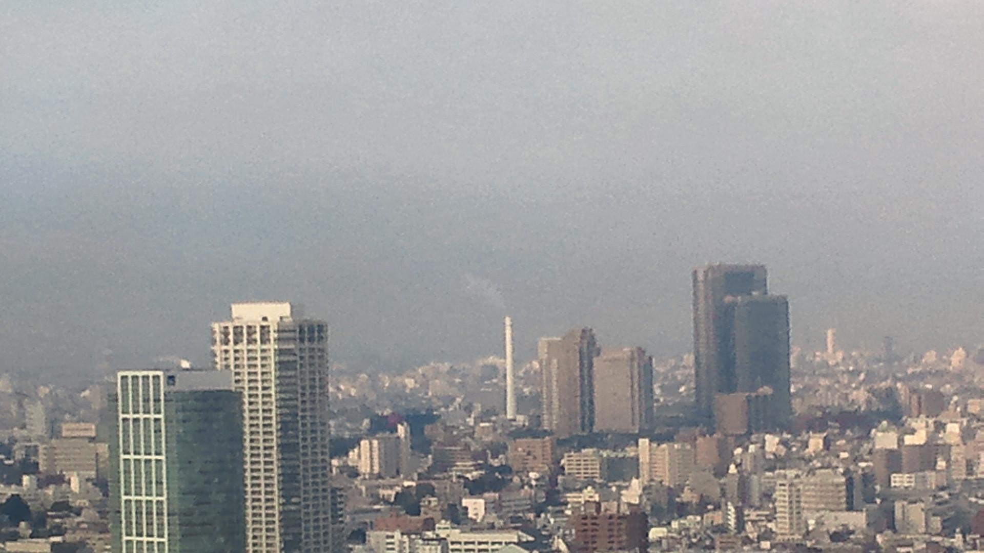 きょうの富士山 120111