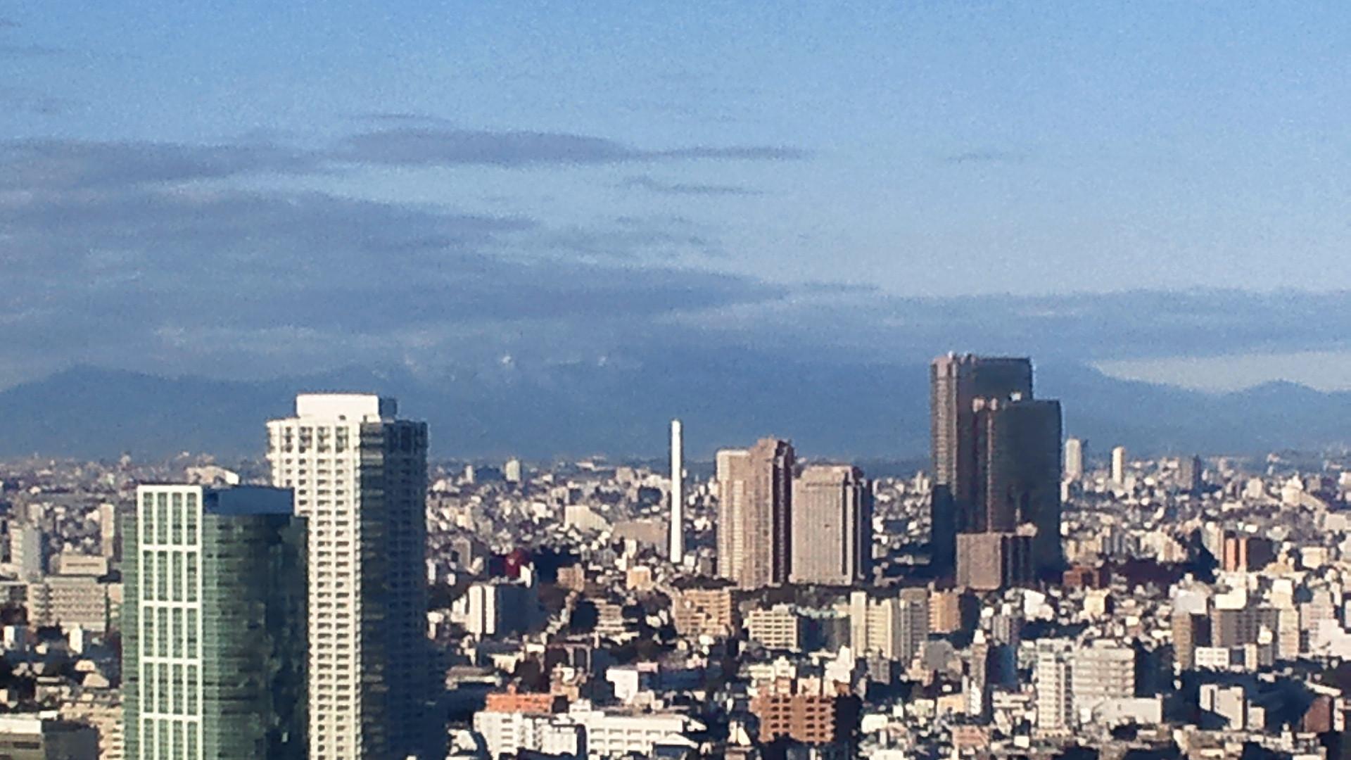 きょうの富士山 120112