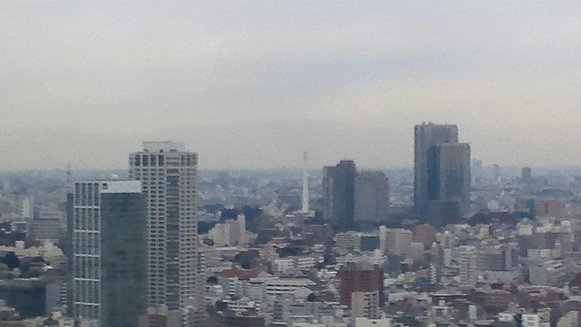 きょうの富士山 120117