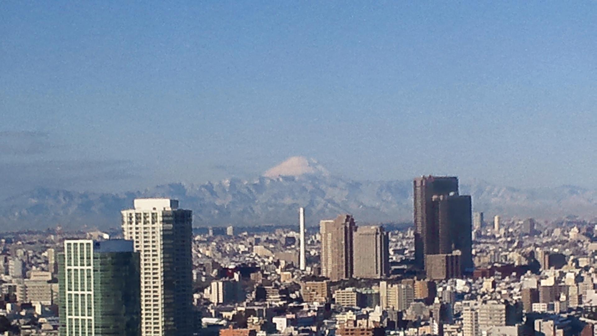 きょうの富士山 120124