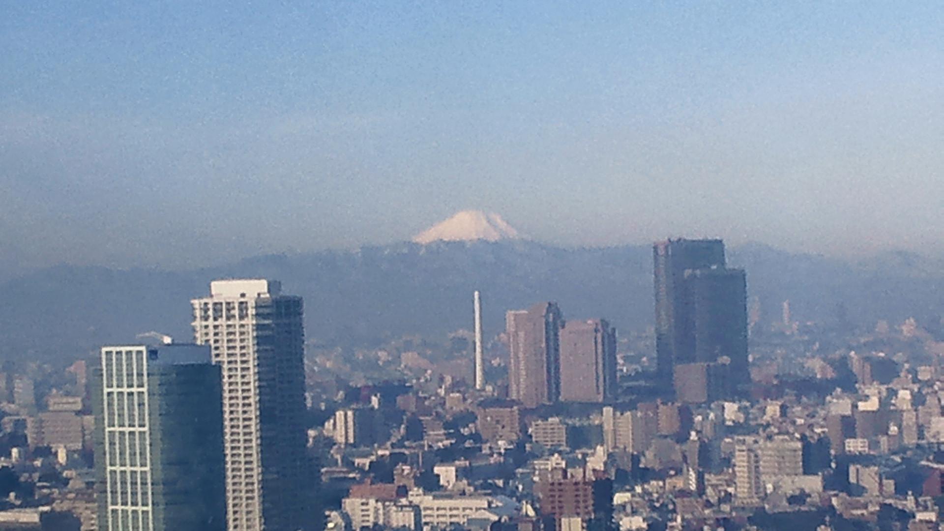 きょうの富士山 120125