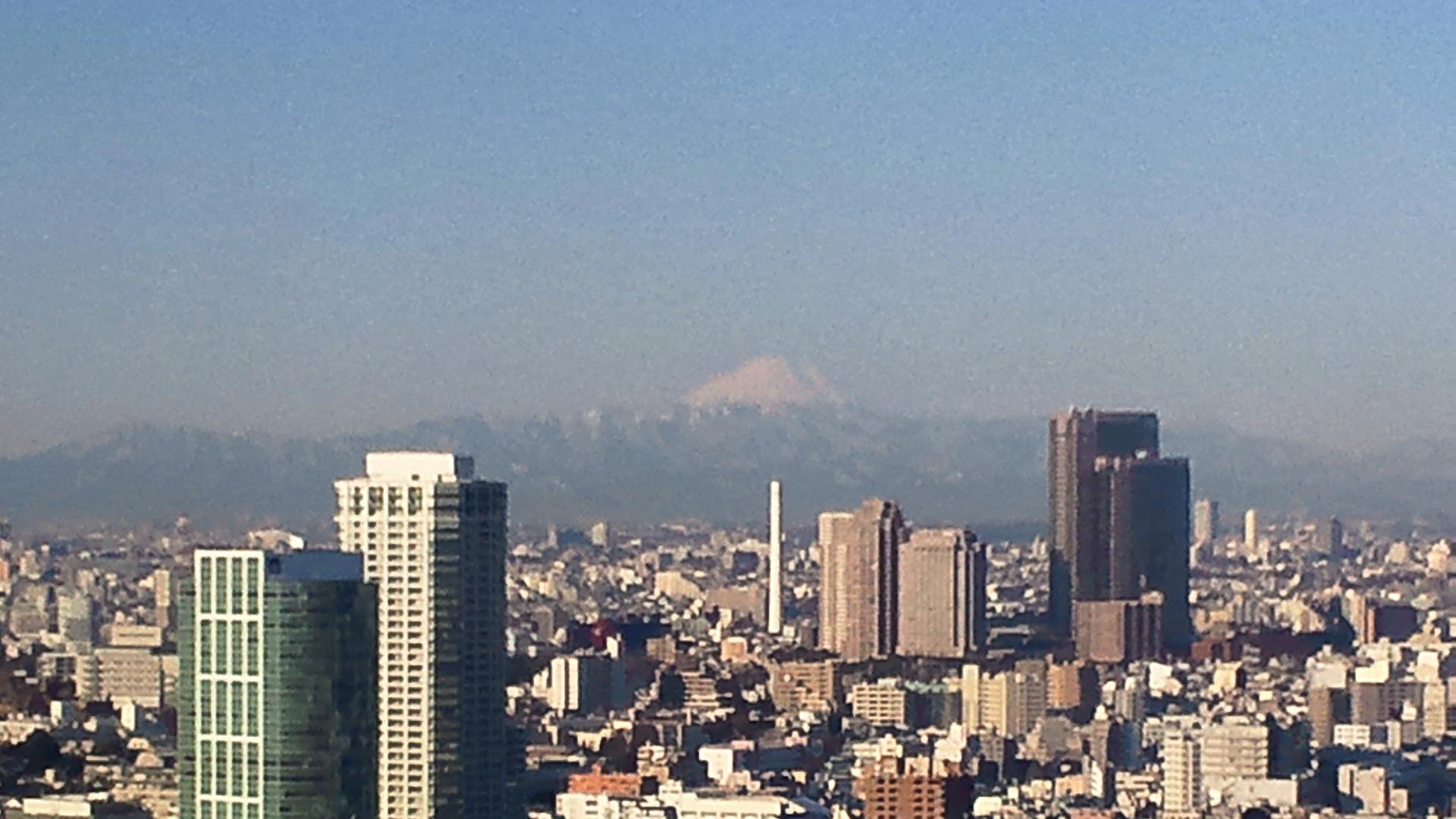 きょうの富士山 120126