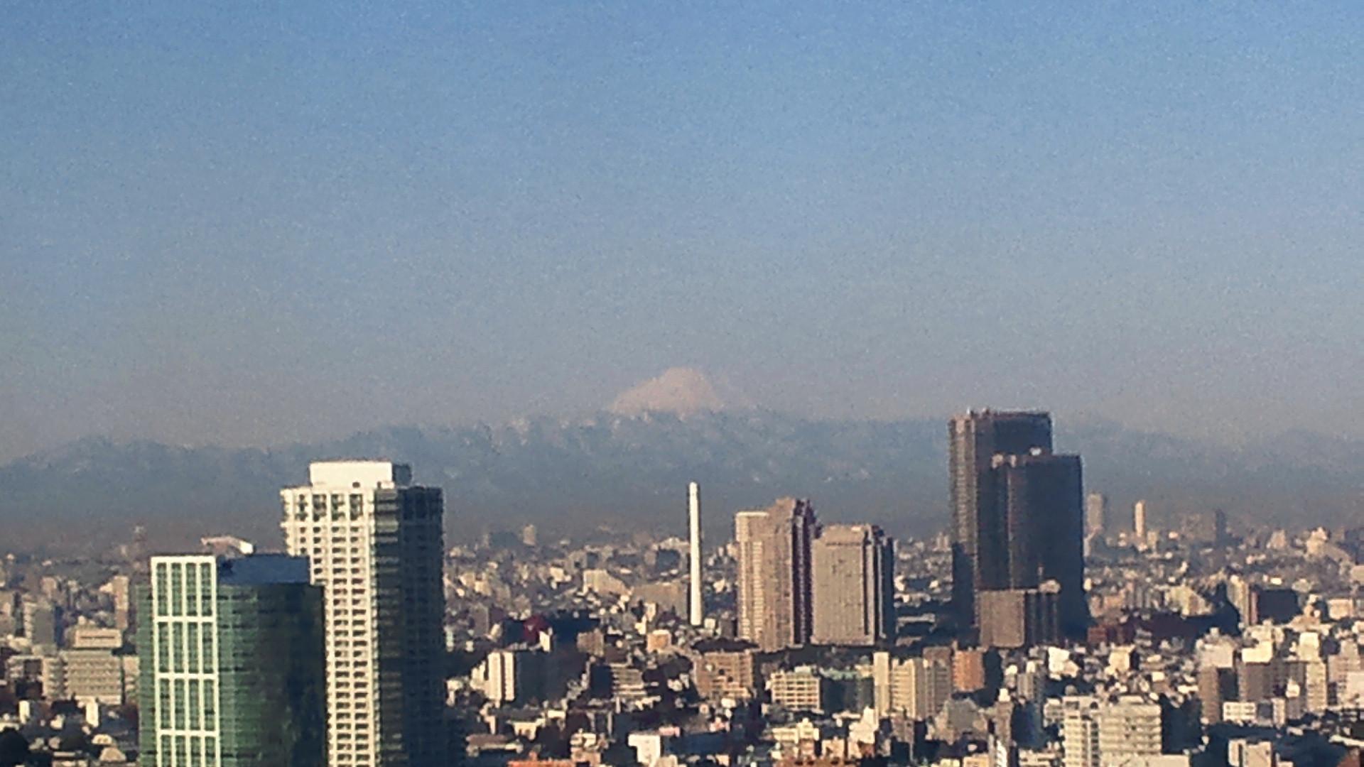 きょうの富士山 120127