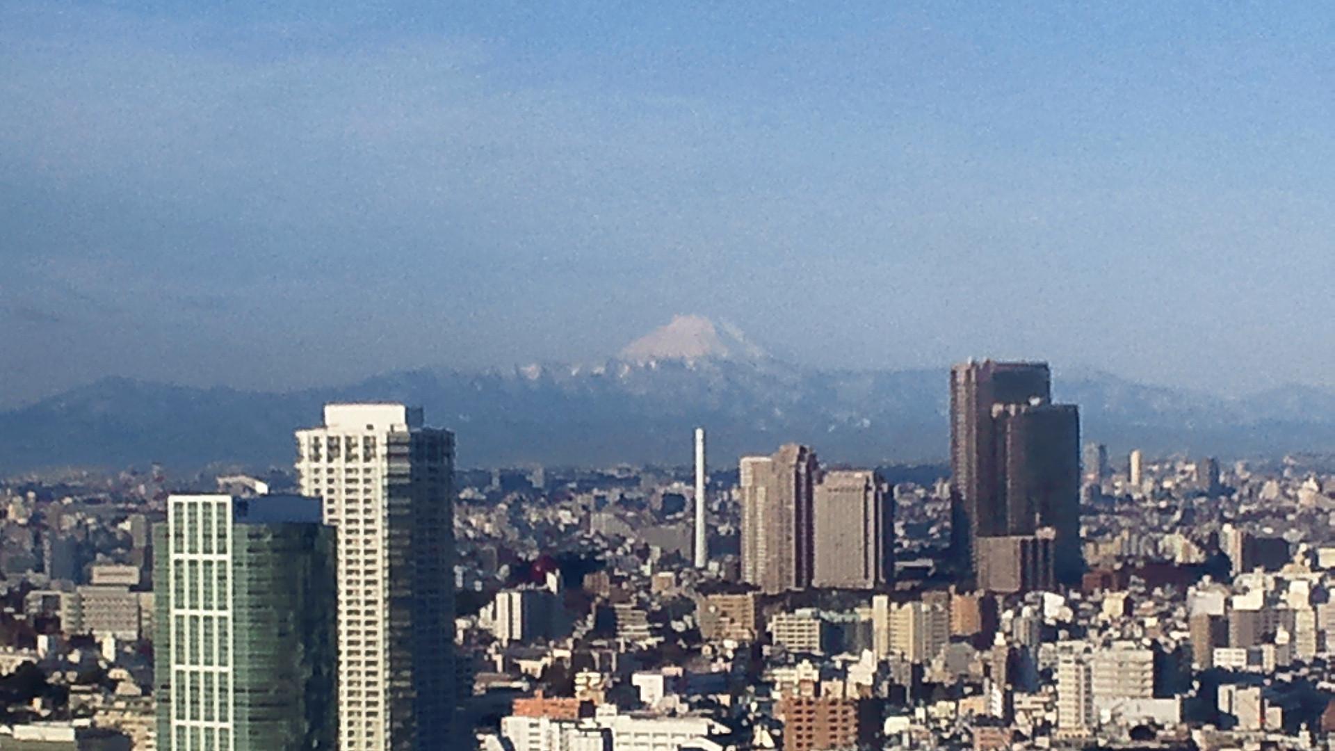 きょうの富士山 120130