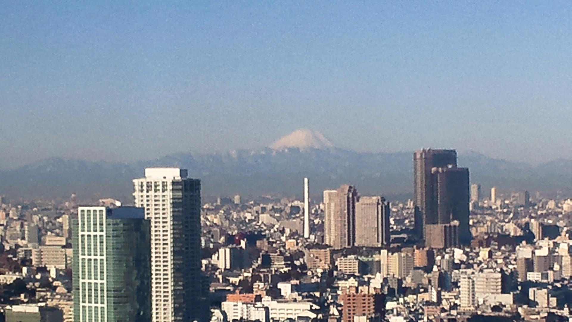 きょうの富士山 120131