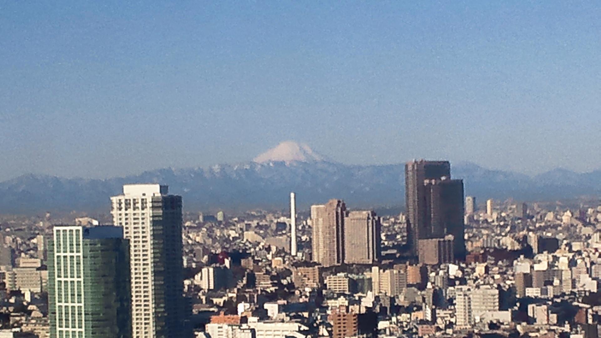 きょうの富士山 120203