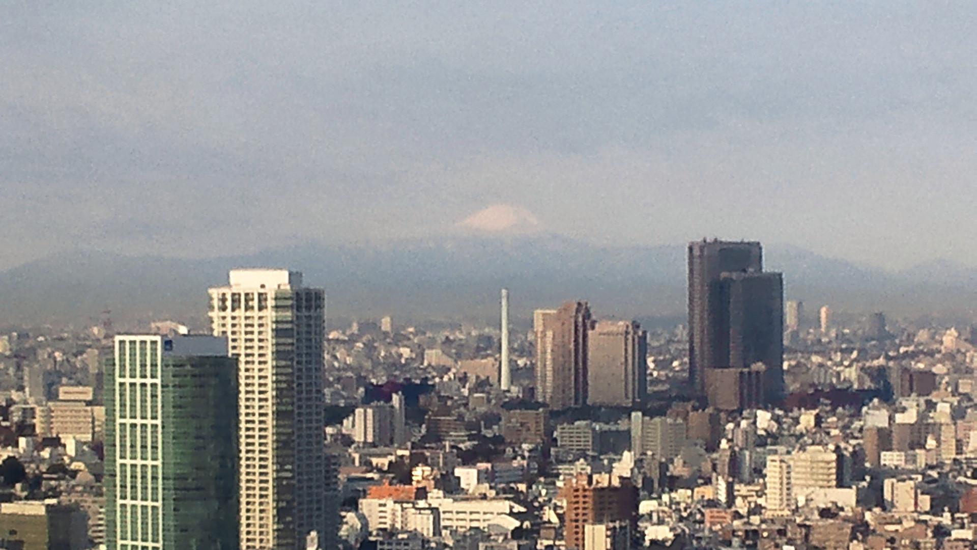 きょうの富士山 120210