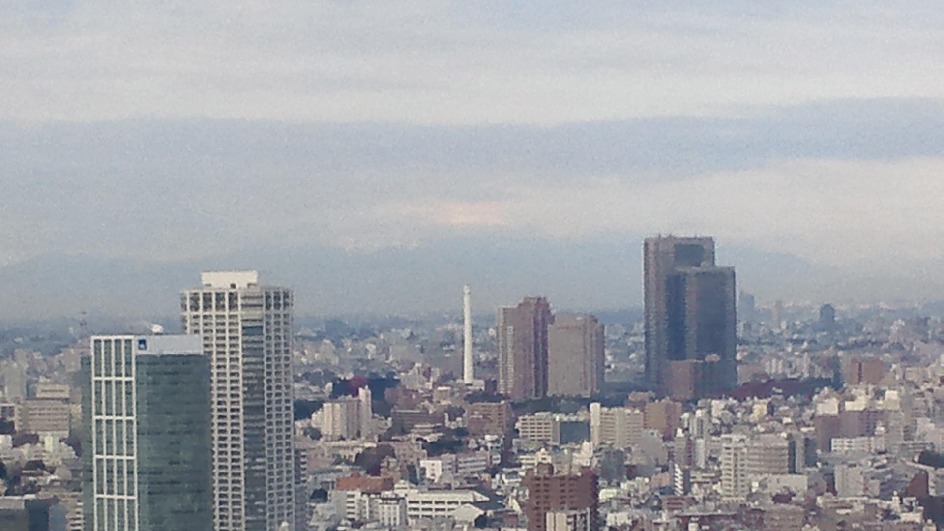 きょうの富士山 120211