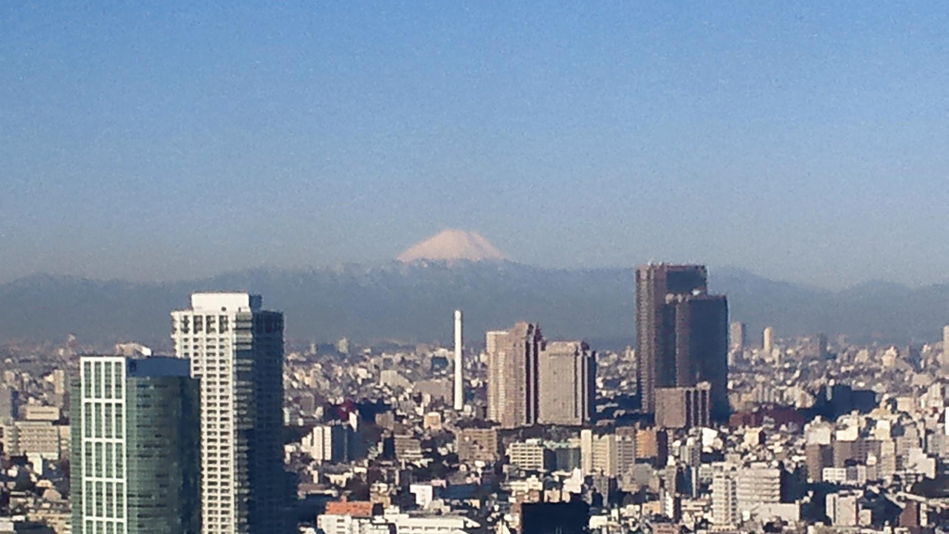 きょうの富士山 120220
