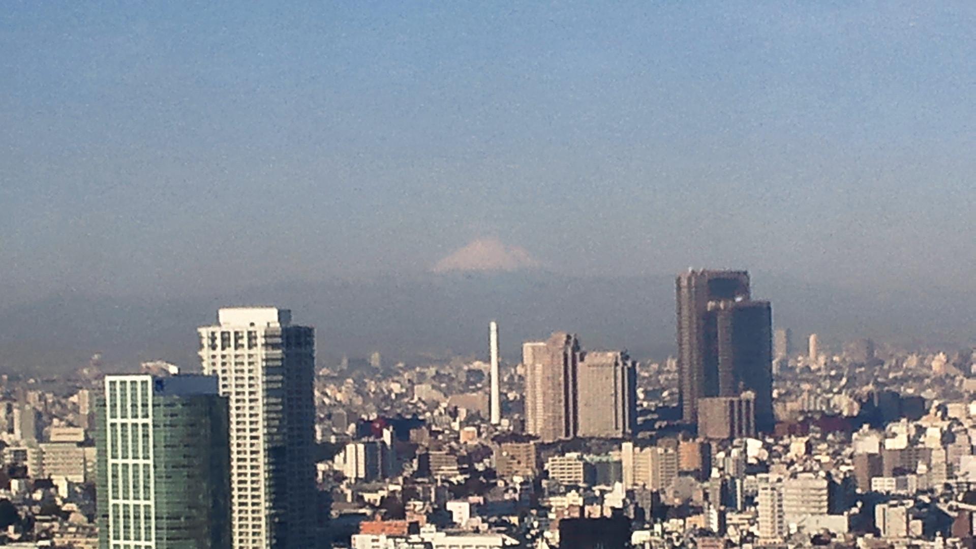 きょうの富士山 120221