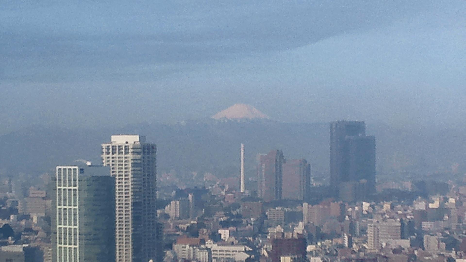 きょうの富士山 120301