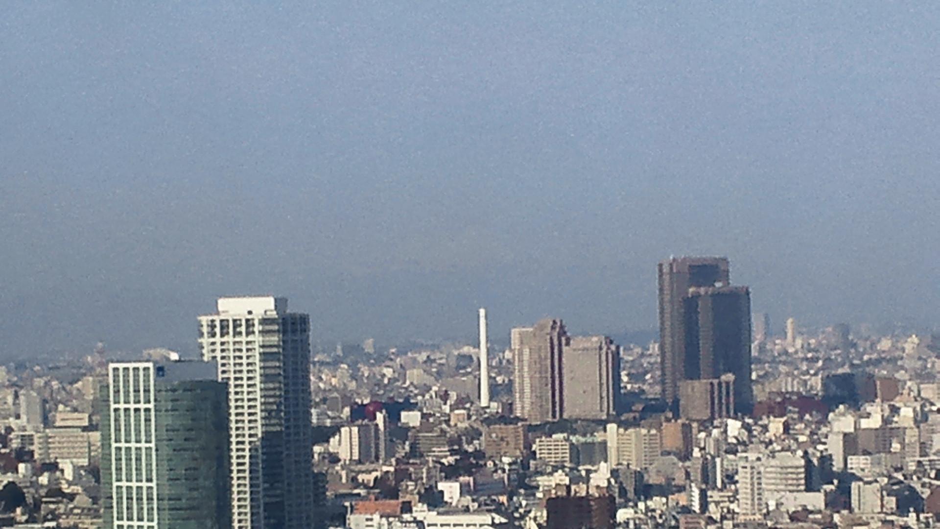 きょうの富士山 120316