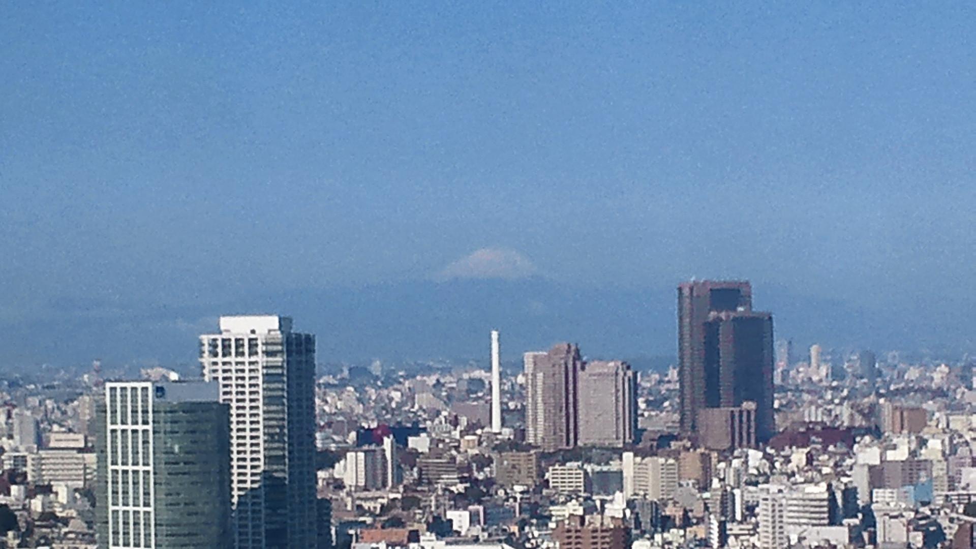 きょうの富士山 120412