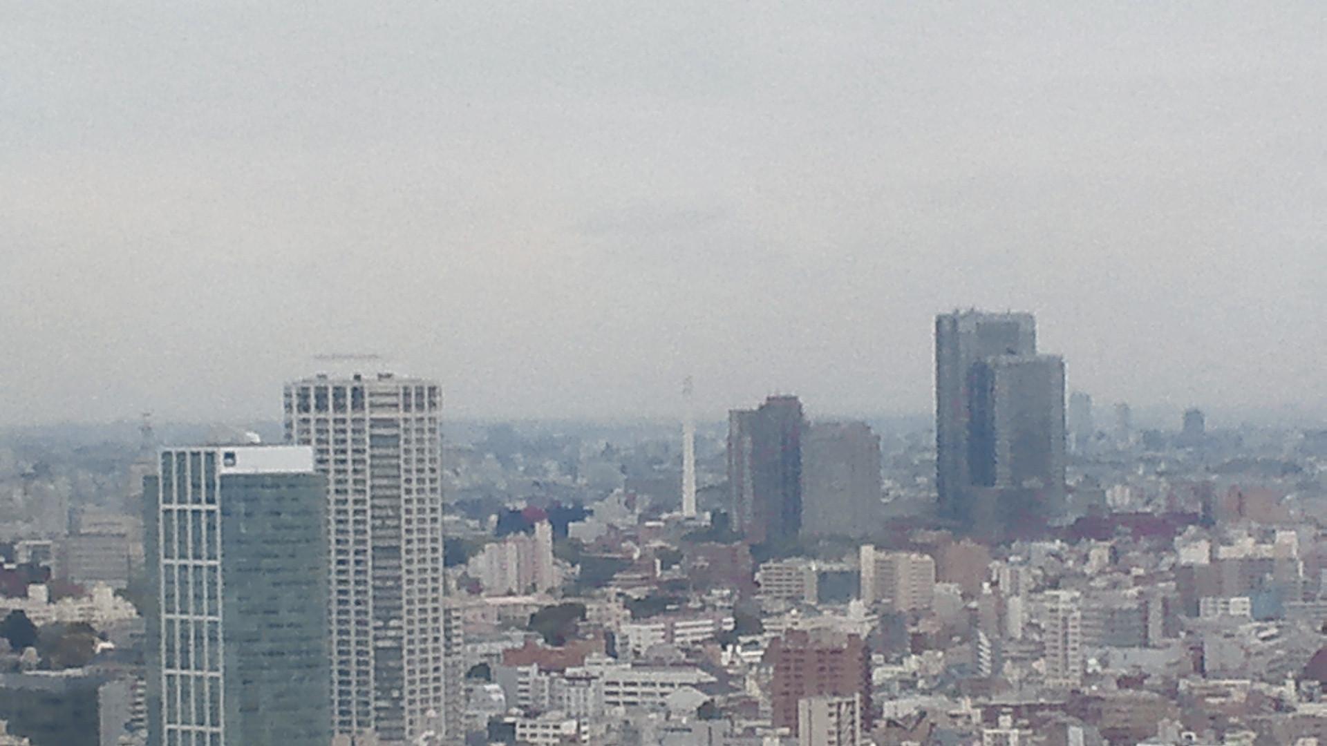 きょうの富士山 120420